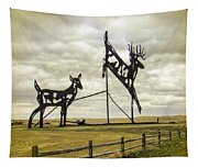 Deer Crossing Tapestry