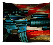 Defender Of Freedom - 2nd Ammendment Tapestry
