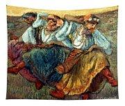 Degas: Dancing Girls, C1895 Tapestry
