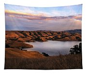 Del Valle At Sunset Tapestry