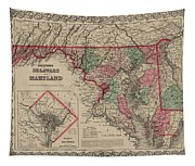 Delaware And Maryland Tapestry