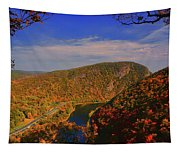 Delaware Water Gap In The Fall Tapestry