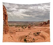 Delicate Arch Panoramic Tapestry