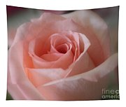 Delicate Pink Rose Tapestry