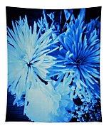 Delightfully Blue Tapestry