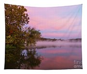 Delightfully Pink Morning Tapestry