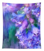 Delphinium Abstract Tapestry
