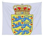 Denmark Coat Of Arms Tapestry