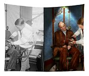 Dentist - Monkey Business 1924 - Side By Side Tapestry