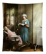 Dentist - Patients Is A Virtue 1920 Tapestry by Mike Savad