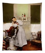 Dentist - Treating Them Like Children 1922 Tapestry by Mike Savad