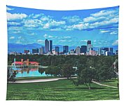 Denver City Park Tapestry