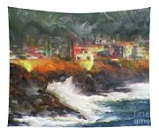 Depoe Bay Oregon Tapestry