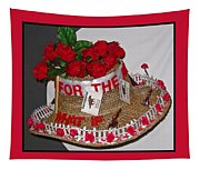 Derby Day Hat - 2 Tapestry