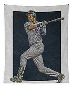 Derek Jeter New York Yankees Art 2 Tapestry