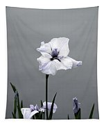 Desaturated Japanese Water Iris 2707 H_5 Tapestry