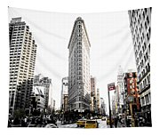 Desaturated New York Tapestry