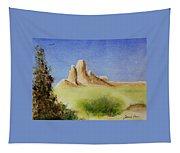 Desert Butte Tapestry