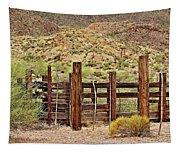 Desert Corral Tapestry