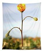Desert Sun Flower Tapestry