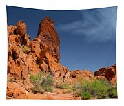 Desert Tower Valley Of Fire Tapestry