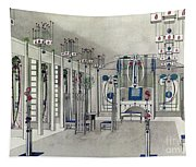 Design For A Music Room With Panels By Margaret Macdonald Mackintosh Tapestry