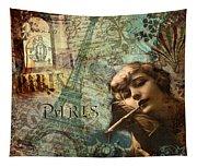 Destination Paris Tapestry