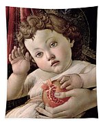 Detail Of The Christ Child From The Madonna Of The Pomegranate  Tapestry