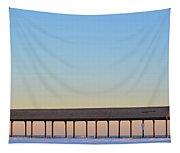 Devereax Beach Walkway Marblehead Ma Tapestry