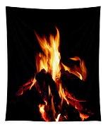 Devil Fire Tapestry