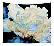 Dew Drops On Peony Tapestry