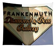 Diamond And Gem Gallery Tapestry