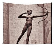 Diana - Goddess Of Hunt Tapestry