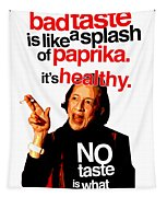 Diana Vreeland On Taste Tapestry