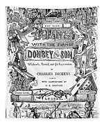 Dickens: Dombey And Son Tapestry