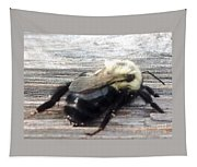 Different Take Of A Bee Tapestry