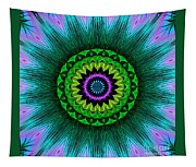 Digital Kaleidoscope Mandala 50 Tapestry