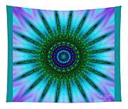 Digital Kaleidoscope Mandala 51 Tapestry