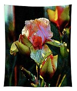 Digital Painting Vibrant Iris 6764 Dp_2 Tapestry
