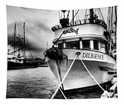 Diligence Bw Tapestry