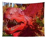 Dinosaurs 8 Tapestry