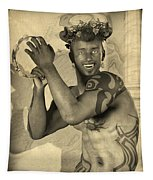 Dionysus Sepia Old Tapestry
