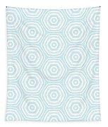 Dip In The Pool -  Pattern Art By Linda Woods Tapestry