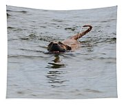 Dirty Water Dog Tapestry