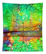 Disappearing In Colour Tapestry