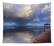 Disappearing Rainbow Tapestry