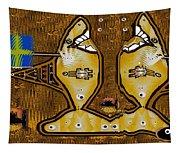 Disco Sharks Tapestry