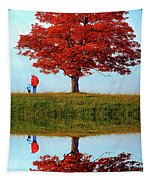Discovering Autumn - Reflection Tapestry