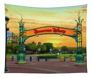 Disneyland Downtown Disney Signage 02 Tapestry