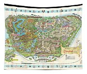 Disneyland Of Old Tapestry